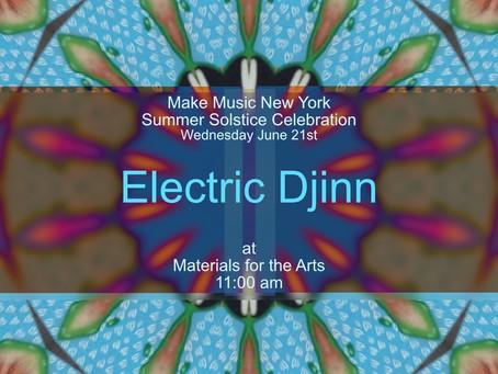 Electric Djinn Celebrates the Summer Solstice