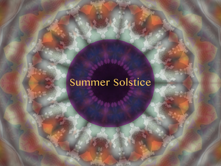 SUMMER SOLSTICE in the park