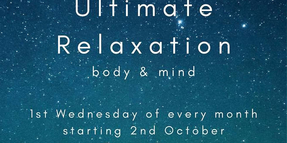 Ultimate Relaxation December