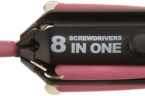 8in1 Pink Screwdriver