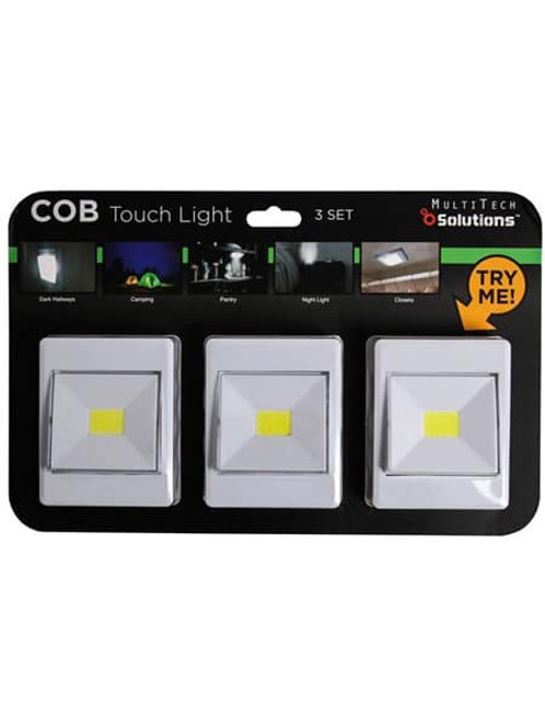 COB Touch Light 3 Pack