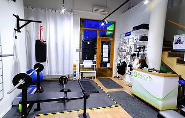 Pakvisklinken - Gym