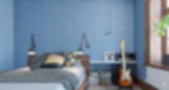 Спальня, фактура Деним, цвет 51059+51004