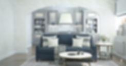 Гостиная, фактура Ла-Рошель, цвет 3D-Perle