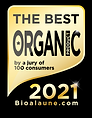 Best Organic Product award 2021 UK.bmp