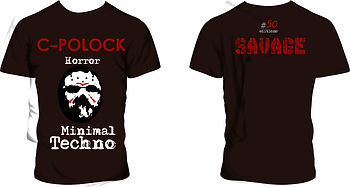 remeras Savage Minimal Techno, modelo #03