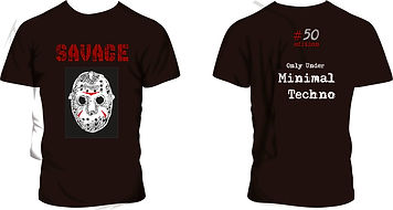 remeras Savage Minimal Techno, modelo #12