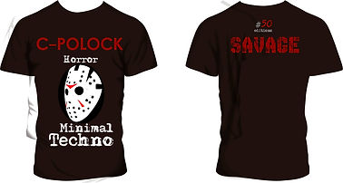 remeras Savage Minimal Techno, modelo #01