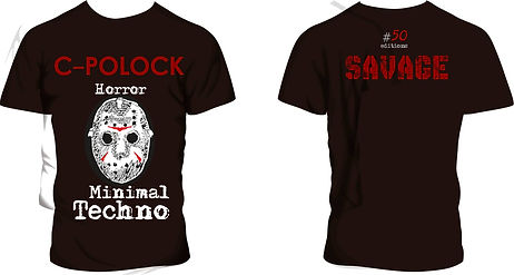 remeras Savage Minimal Techno, modelo #06
