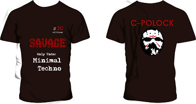 remeras Savage Minimal Techno, modelo #05
