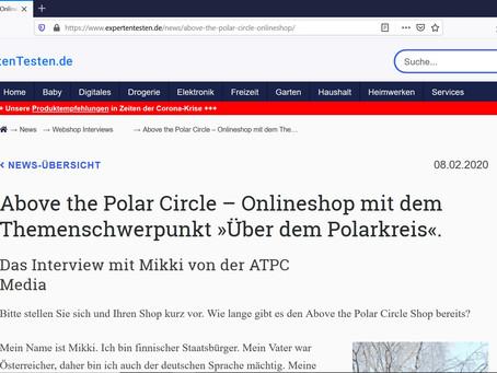 Webshop Interview von Expertentesten.de
