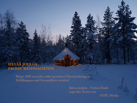Hyvää Joulua - Frohe Weihnachten 2018