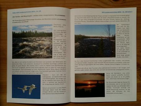 Deutsch-Finnische Gesellschaft NRW veröffentlicht einen Artikel von Mikki H. in ihren Landesnachrich