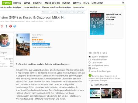 """Neue Rezensionen zu """"Kossu & Ouzo"""""""