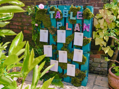 Peacock Inspired Pallet Table Plan Project