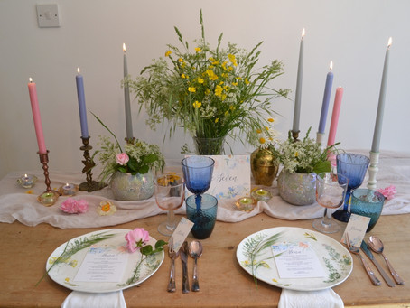 Summer Meadow Table Scape