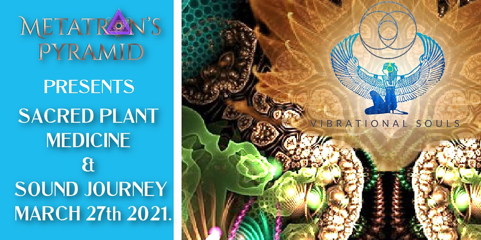 Sacred Plant Medicine & Sound journey With Vibrational Souls at Metatron's Pyramid