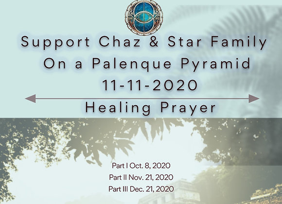 Donation For Palenque Pyramids Activation Documentary