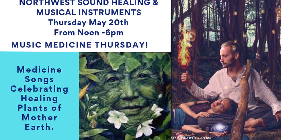 Grand Opening Day is Music Medicine day
