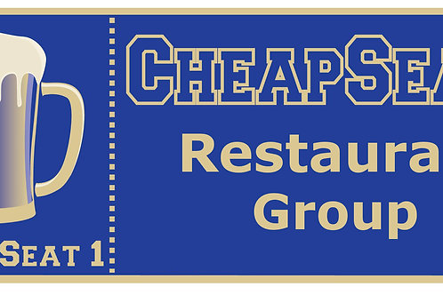 Cheap Seats Gift Cards