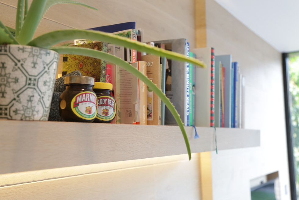 Bespoke floating shelf