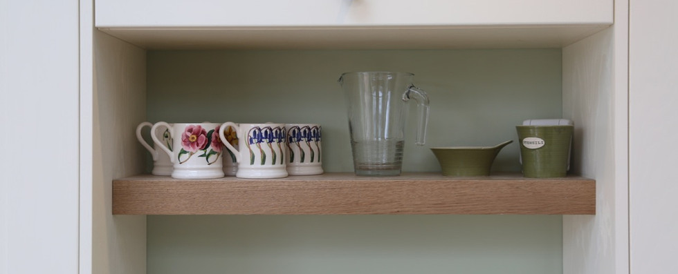 Bespoke shelf detail