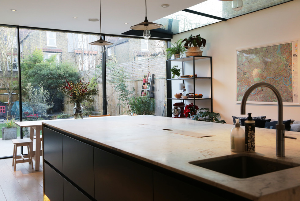 Kitchen extension - island