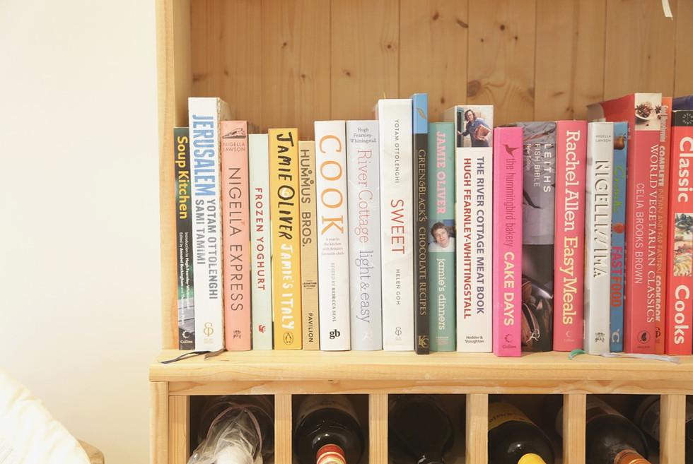 Bespoke shelf & wine rack