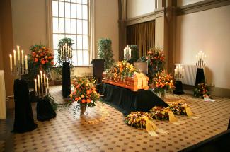 Un funeral en Alemania