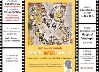 """Película-Documental """"Terapia Interfamiliar"""" dirigida y producida por CTI"""