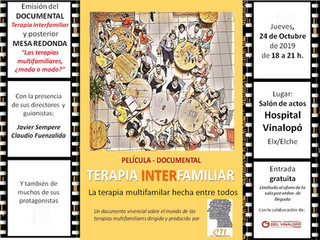 "Película-Documental ""Terapia Interfamiliar"" dirigida y producida por CTI"