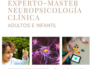 Experto-Máster Neuropsicología Clínica Adultos e Infantil. AMPLIAMOS PLAZO HASTA 10 OCTUBRE O HASTA