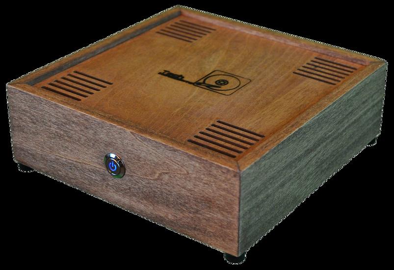 TechBox (v1.0) Wood Computer