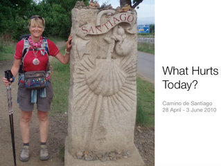 Camino Frances.........what hurts today?