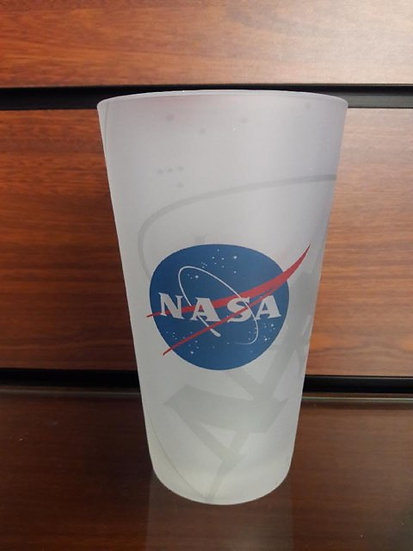 NASA Frosted Wrap Pint Glass