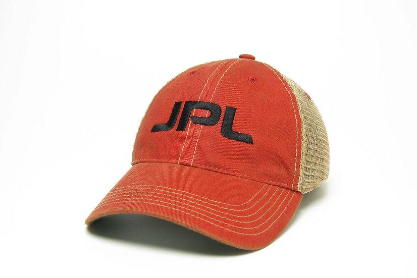 JPL Red Trucker Cap