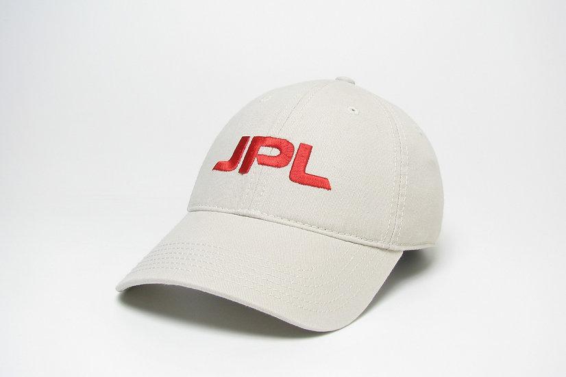 JPL Khaki/Red Letters Cap