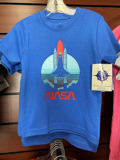 YOUTH - NASA Worm / Shuttle Blue