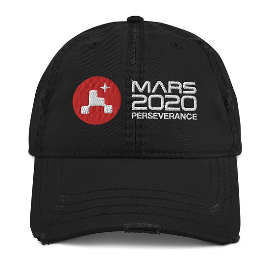MARS 2020 Distressed Dad Hat