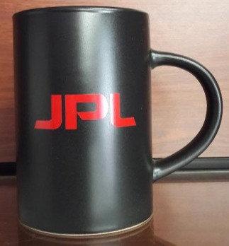 JPL Red and Black Midnight Mug