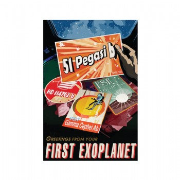Exoplanet - First Exoplanet  5 x 7 Postcard