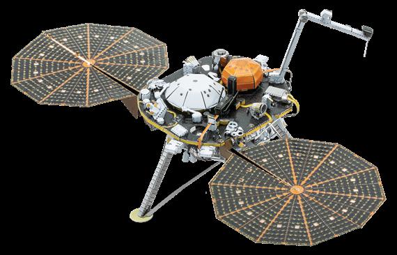 Insight Mars Lander Metal