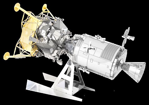 Apollo Command/Service W/Lunar Module Metal