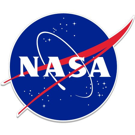 NASA Meatball Acrylic Magnet