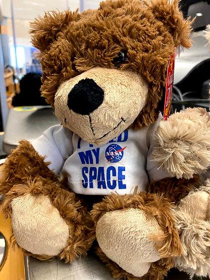 I Need My Space Cinnamon Bear
