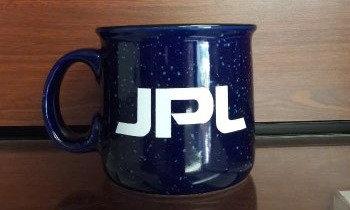 JPL Camper Mug Blue