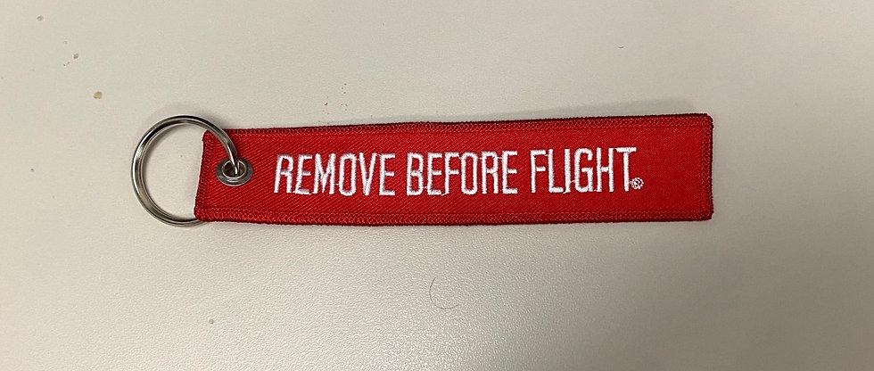 Remove Before Flight-Keyring