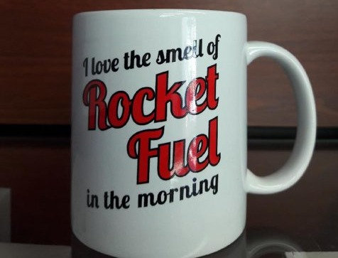 Mug-I Love the Smell of Rocket Fuel