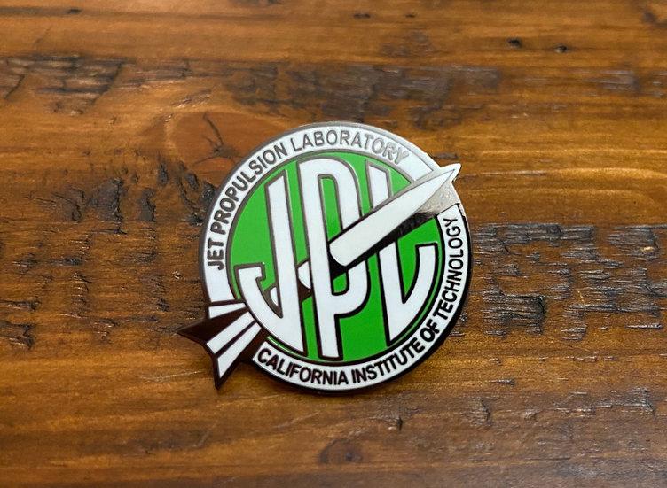 Lapel Pin - Vintage JPL Green