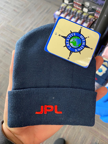 JPL Toddler Cuff Beanie Legacy KNB, also available in white and pink